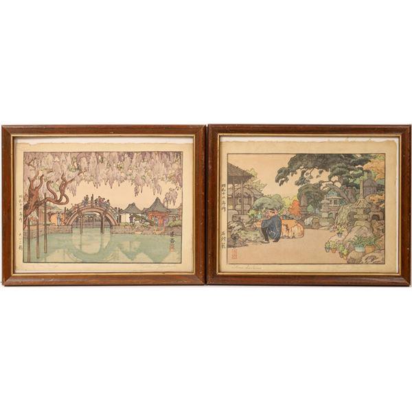 Toshi Yoshida Woodblock Prints  [131942]