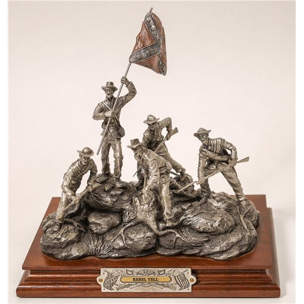 Chilmark Rebel Yell Pewter Sculpture by F. J. Barnum  [131915]