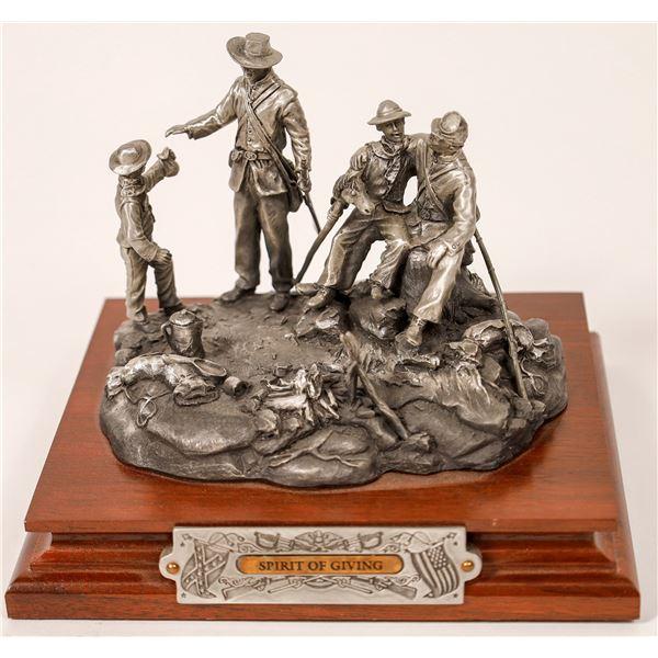 Chilmark Spirit of Giving Pewter Sculpture by F. J. Barnum  [129057]
