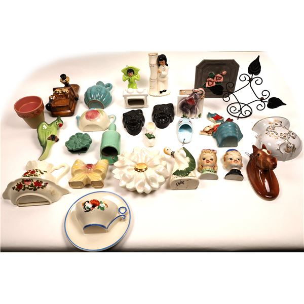 Ceramic Wall Pocket Collection (27)  [131408]