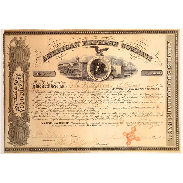 American Express Company Stock Certificate   [132700]