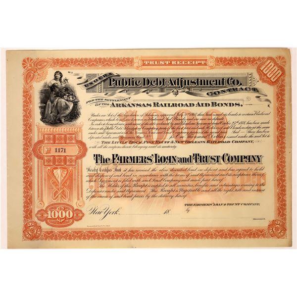 Arkansas Railroad Aid Bond  [129755]