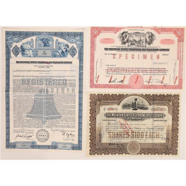 Mountain States Telephone & Telegraph Co. Stock & Bond Group  [135428]