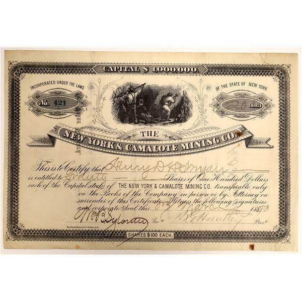 New York & Camalote Mining Company Stock  [130168]