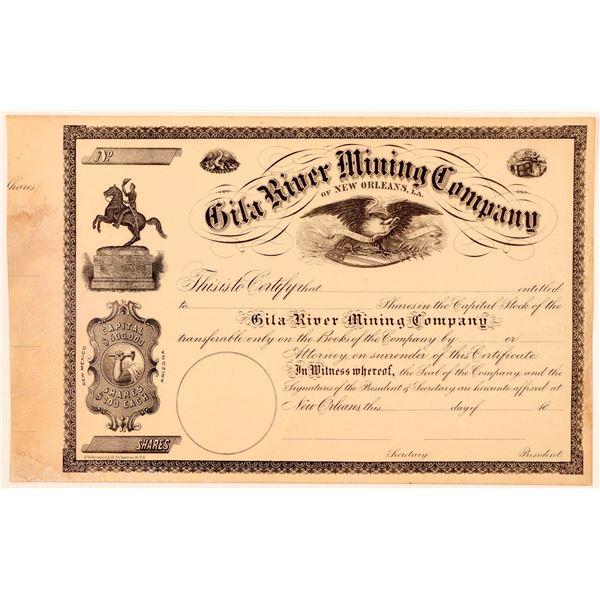 Gila River Mining Co. of New Orleans, Louisiana  [110812]