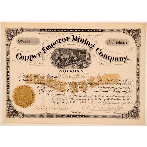 Copper Emperor Mining Company Stock  [110810]
