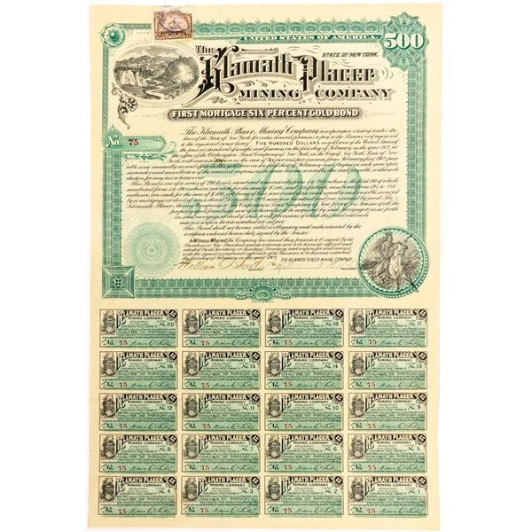 Klamath Placer Mining Company Bond  [55058]