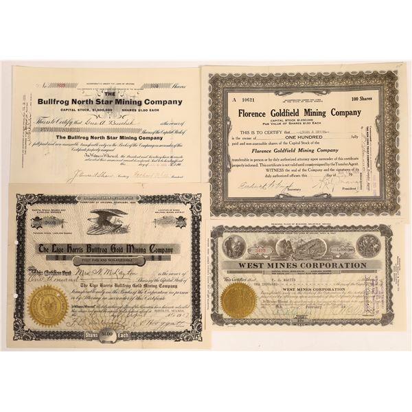 Bullfrog & Goldfield Mining Stock Group  [134019]