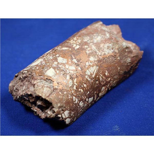Native Copper Split Drill Core, Ray Mine, Pinal County, Arizona  [132375]