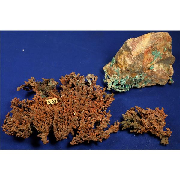 Native Copper, Ray Mine, Pinal County, Arizona  [132538]