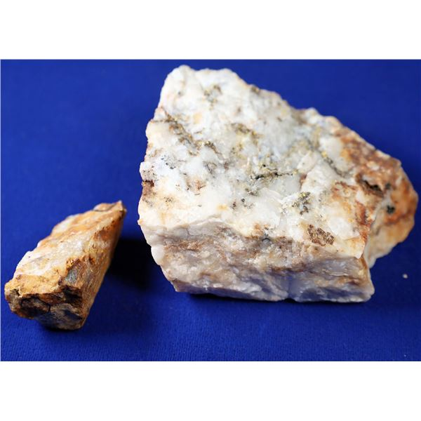 High-Grade Gold Ore, poss. Primrose Mine, Sierra County, California   [132371]