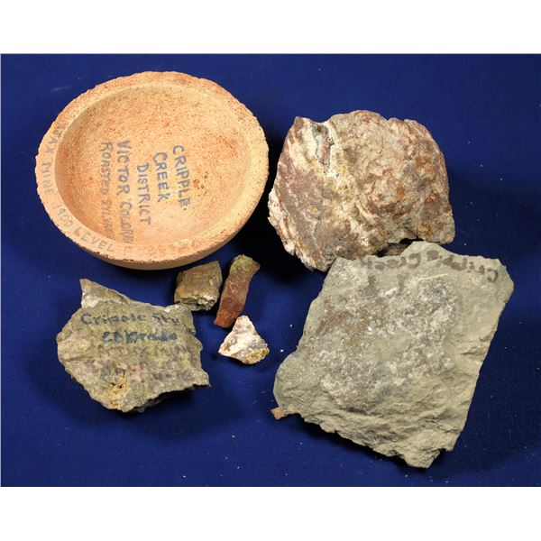 High-Grade Gold/Silver Ore, Ajax Mine, Victor, Colorado  [132872]