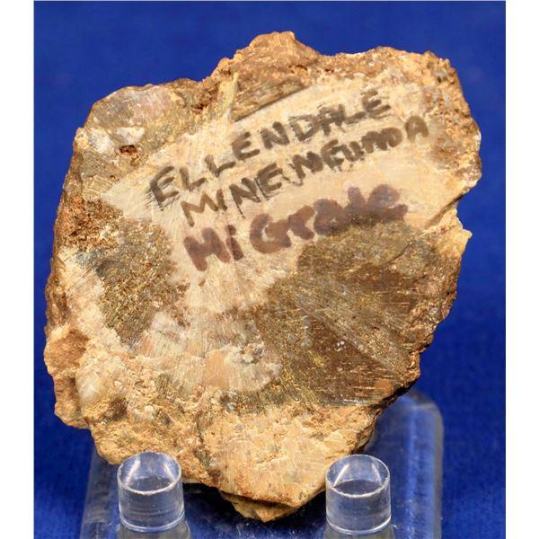 High-Grade Gold Ore, Ellendale Mine, Nye County, Nevada  [131929]