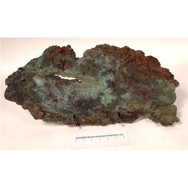 Native Copper Museum Specimen, Rio Tinto  [122811]