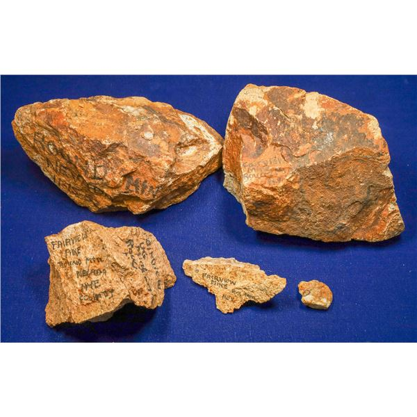 Gold Ore, Fairview Mine, Round Mountain, Nye County, Nevada  [132528]