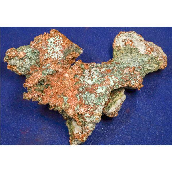 Native Copper with Malachite, Chino Mine, Santa Rita, New Mexico  [132513]