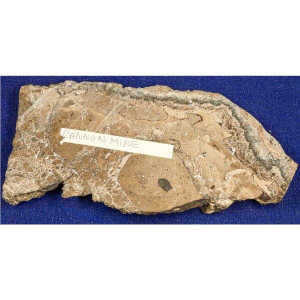 Gold Ore Slab, Cannon Mine, Wenatchee, Washington  [132524]