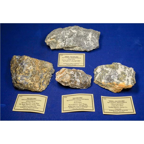 High-Grade Gold and Silver Ore Specimens, Western US  [133733]