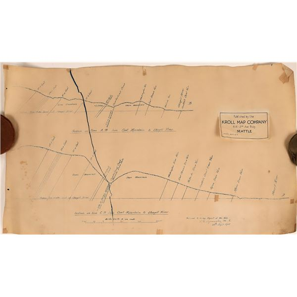 Fair Haven Mining District and Coal Mountain Maps (2)  [120609]