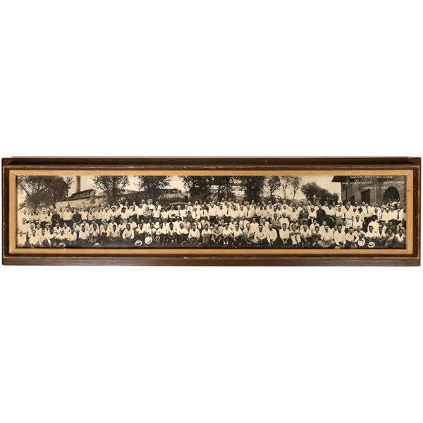 Panoramic Photo of Old Dominion Copper Co, Globe, Arizona Mining Company  [129543]