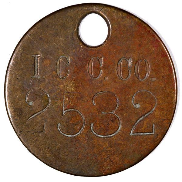 Inspiration Copper Company Equipment Tag  [129313]