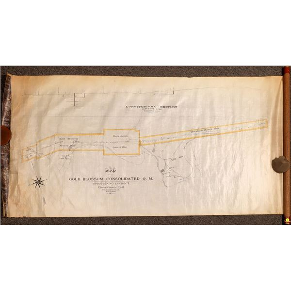 Gold Blossom Consolidated Q.M., (Ophir Mining  District)  Map  [132316]