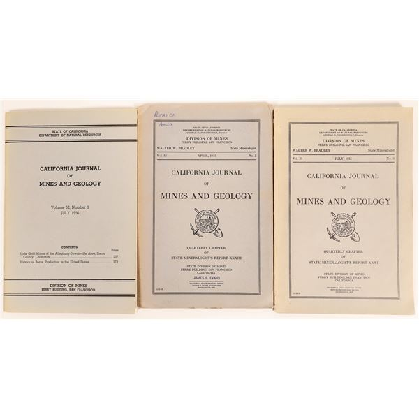Journal of Mines and Geology Publications (3)  [132302]