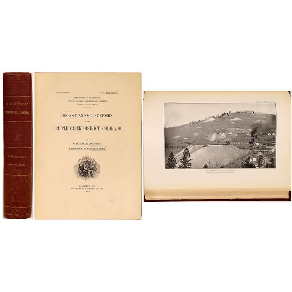 Geology & Gold Deposits of the Cripple Creek District  [132349]