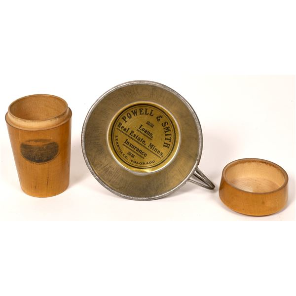 Leadville Tin Cup & Container  [121708]