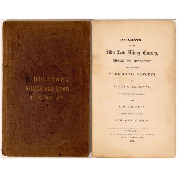 Middletown Silver-Lead Mining Co Prospectus, 1853  [131470]
