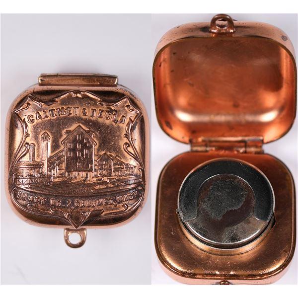 Calumet & Hecla Coin Case  [131923]