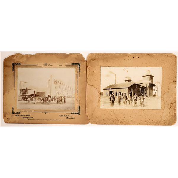 Two Missouri Mining Photographs  [134017]