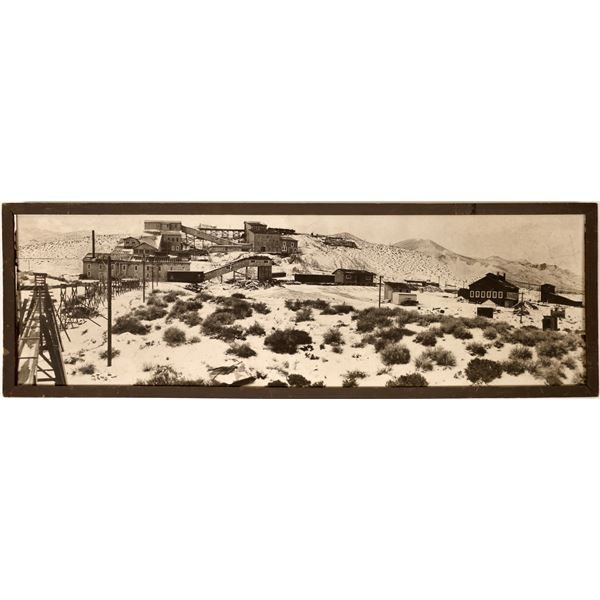 Bluestone, Nevada Copper Concentrating Plant and Furnace Panorama, 2 Feet Long  [130120]