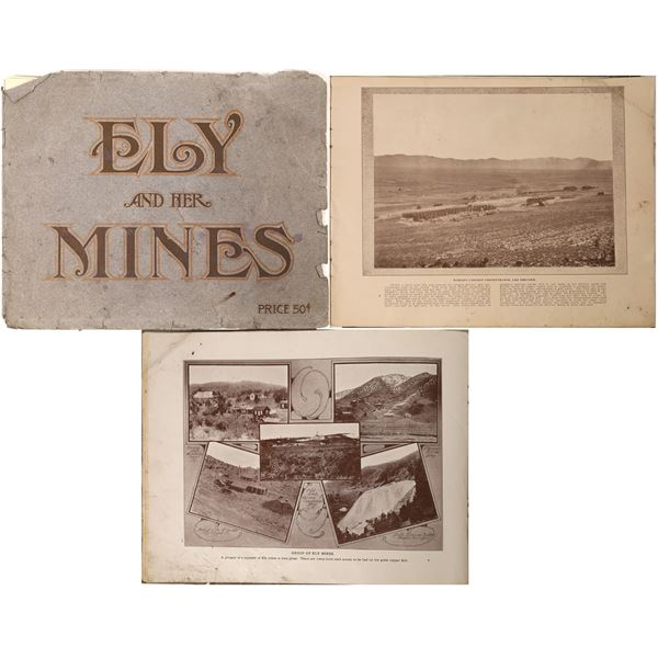 """""""Ely and Her Mines"""", 1907, Rare  [130068]"""