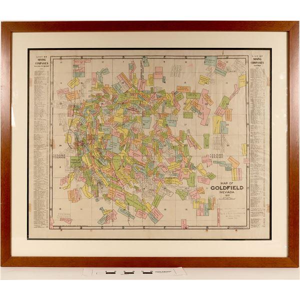 Map of Goldfield, Nevada - Pristine  [125062]