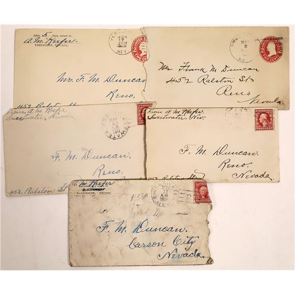 Correspondence from a Nevada Miner  [133742]