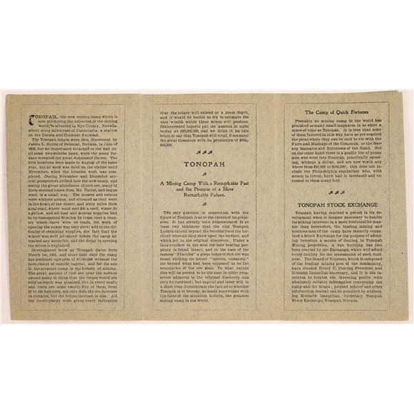 Booklet on Tonapah  [131465]