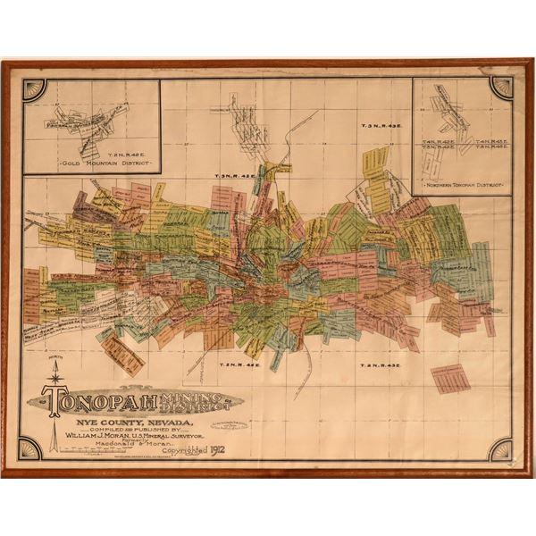 Tonopah Mining District Map - Pristine  [125060]