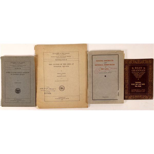 Four Nevada Mining Publications  [130051]