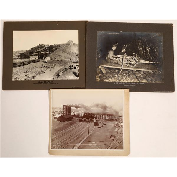 Three Coal Mining Photographs  [134018]