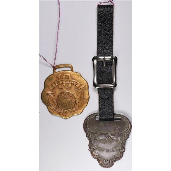 United Mine Workers of America Watch Fobs  [134010]
