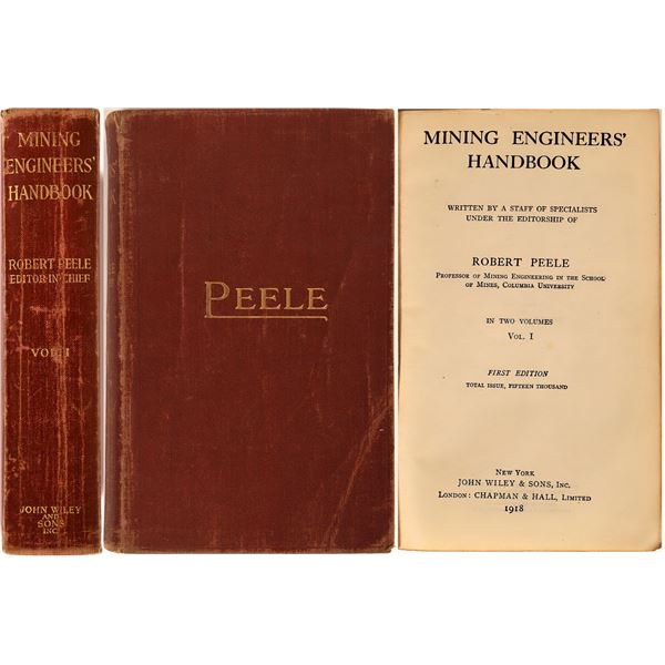 Mining Engineer's Handbook- Vol. 1, First Ed.  [132301]