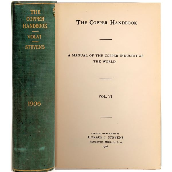 Copper Handbook Vol. VI  [132451]