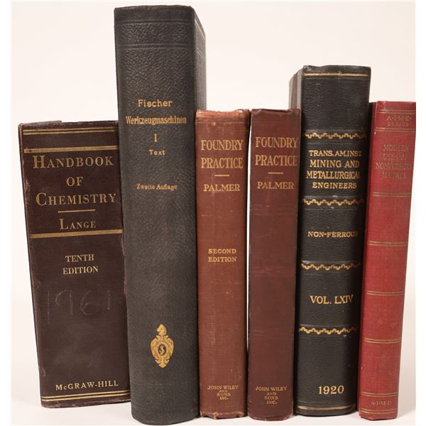 Chemistry & Mining Books  [131964]