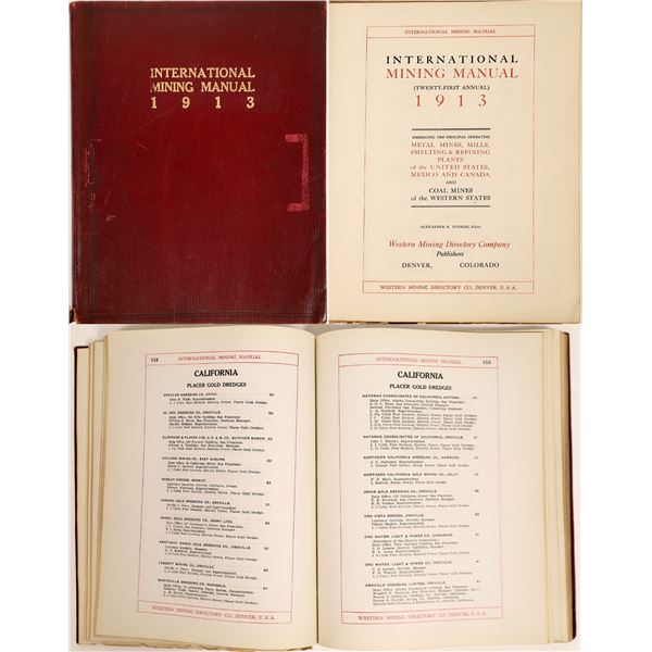 Mining Manual (21st), International  [132341]