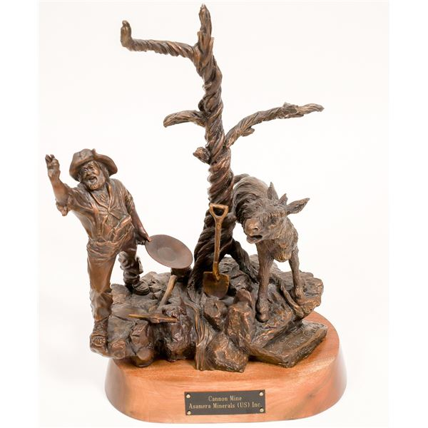 Fool's Gold, Bronze Sculpture by Gary Prazen  [132437]