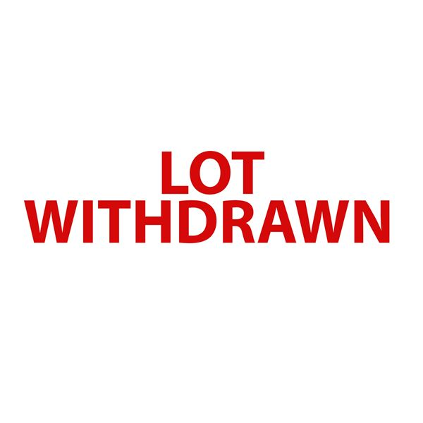 LOT WITHDRAWN  []