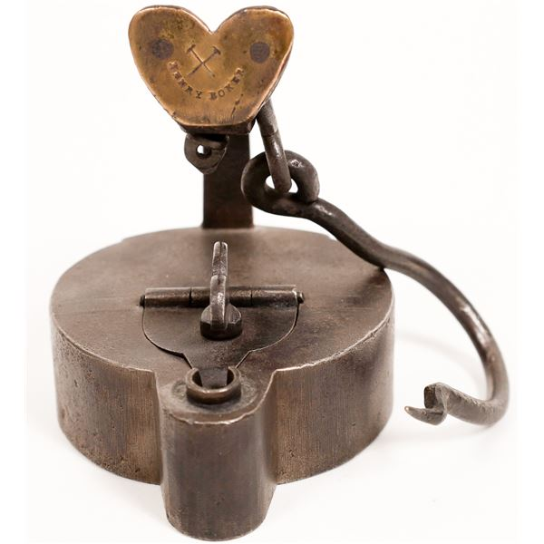 German Iron Oil Lamp, a.k.a. Frog Lamp  [132389]