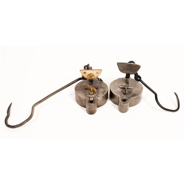 German Iron Oil Lamps, a.k.a. Frog Lamps  [132388]