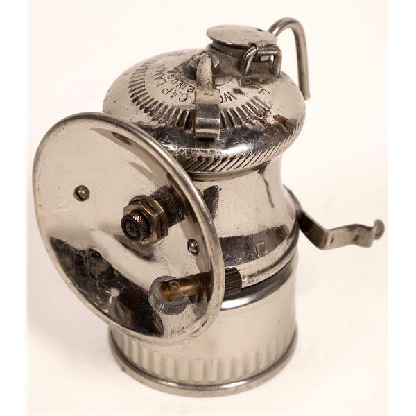 Wolf's Cap Lamp, Miner's Carbide Lamp  [132384]